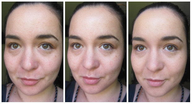 L'Occitane Iris Angelica Sublime Skin Serum and BB Cream Swatches