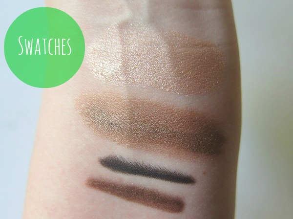 Make Up For Ever Natural Eyes swatches