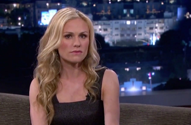 Anna Paquin bravely demonstrates her BRF.