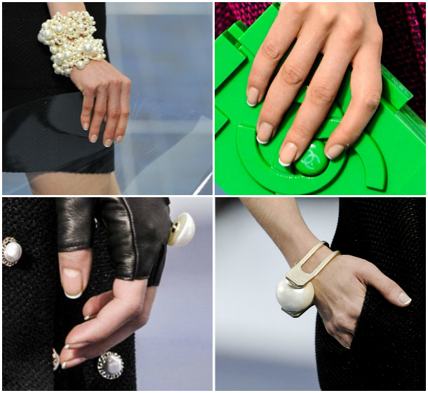 Chanel SS13 French mani