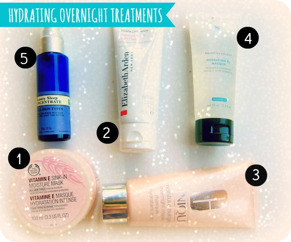 best hydrating overnight treatments