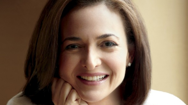 Sheryl Sandberg, author of Lean In and Facebook COO