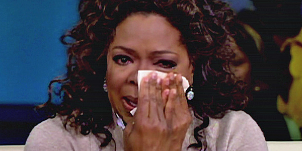 Oprah does 'The Ugly Cry'