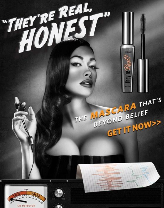 analysis essay on mascara ad