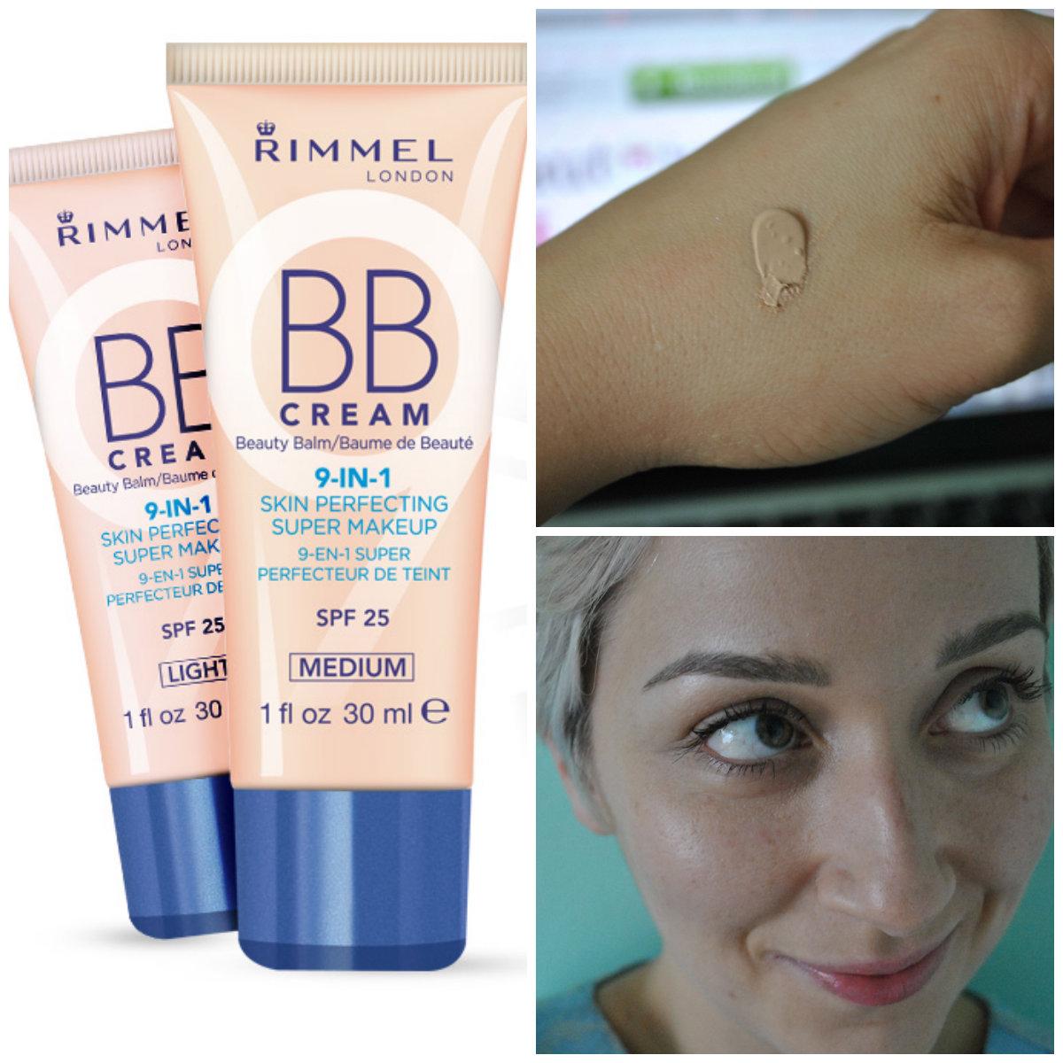 Rimmel BB Cream 9 in 1 Skin Perfecting Super Makeup: Primes ...