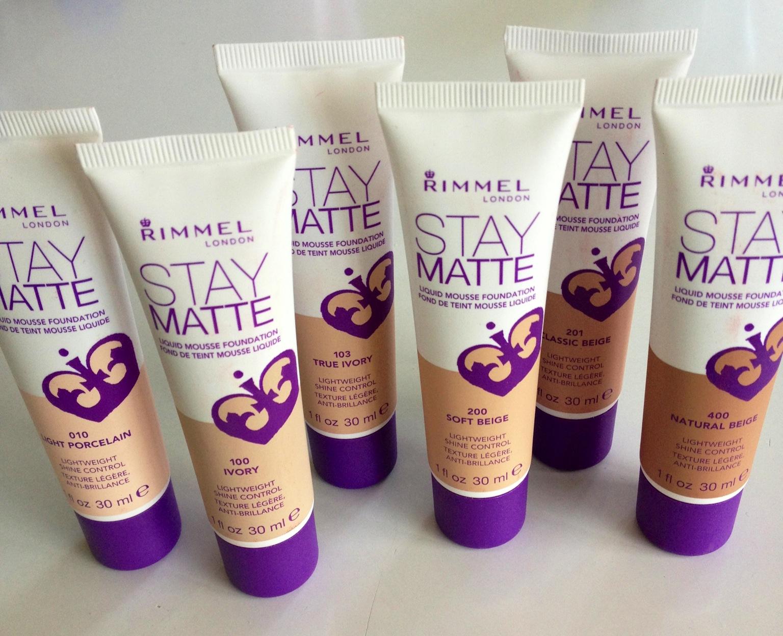 Image result for Rimmel London Stay Matte Foundation
