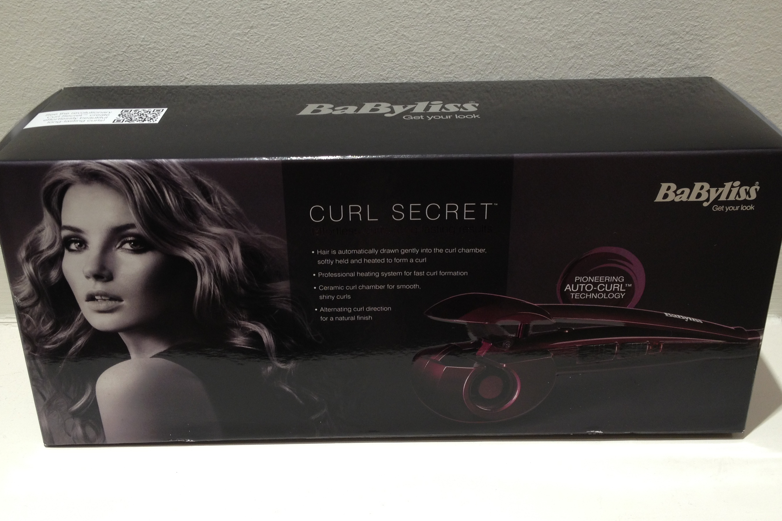 babyliss curl secret review and pics makes curling poker straight hair super easy. Black Bedroom Furniture Sets. Home Design Ideas