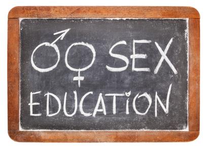 sex education on blackboard