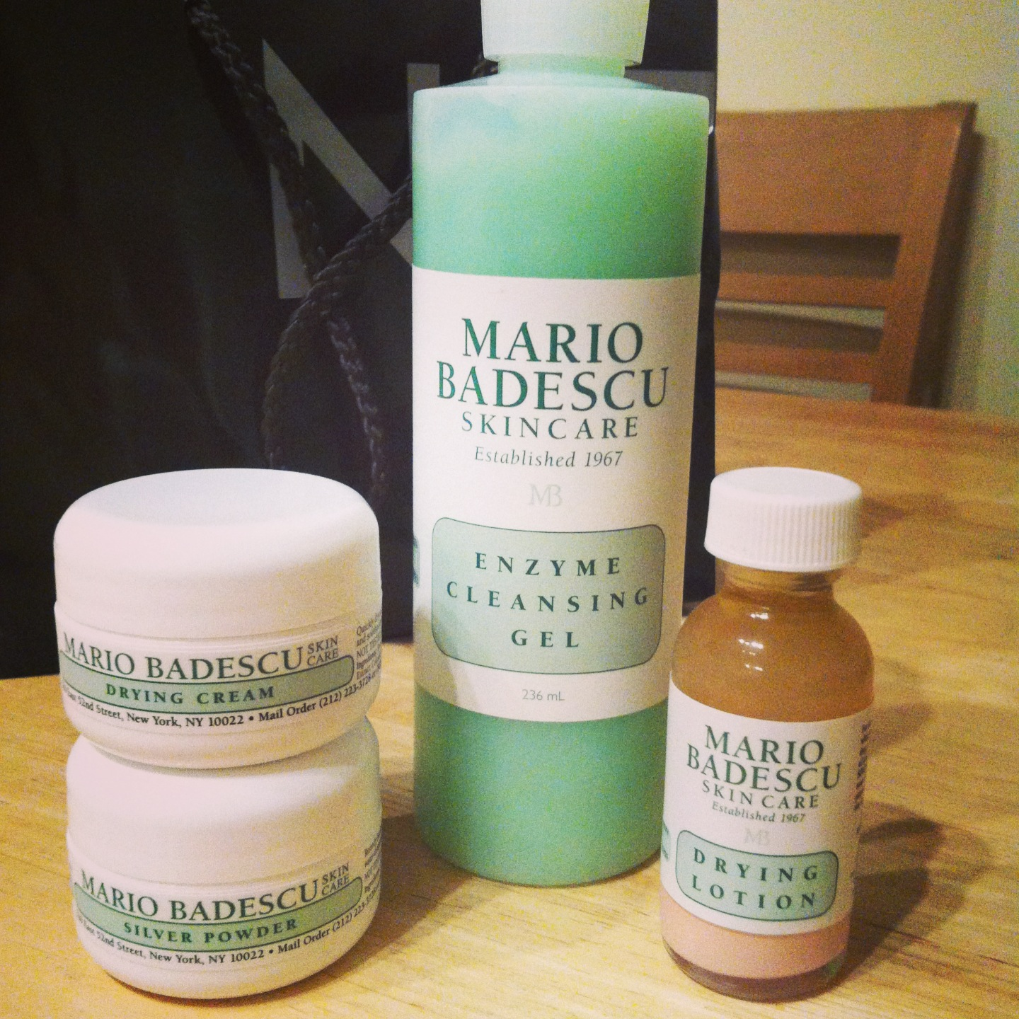 Super Mario Badescu Dying Cream Drying Lotion Rescue My