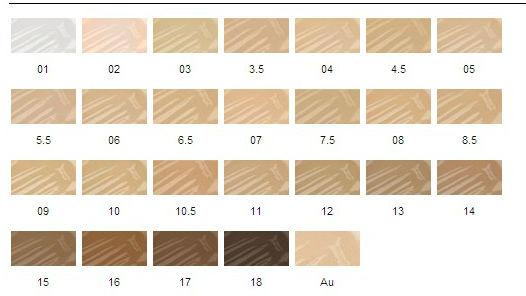 Skinbase Colour Chart