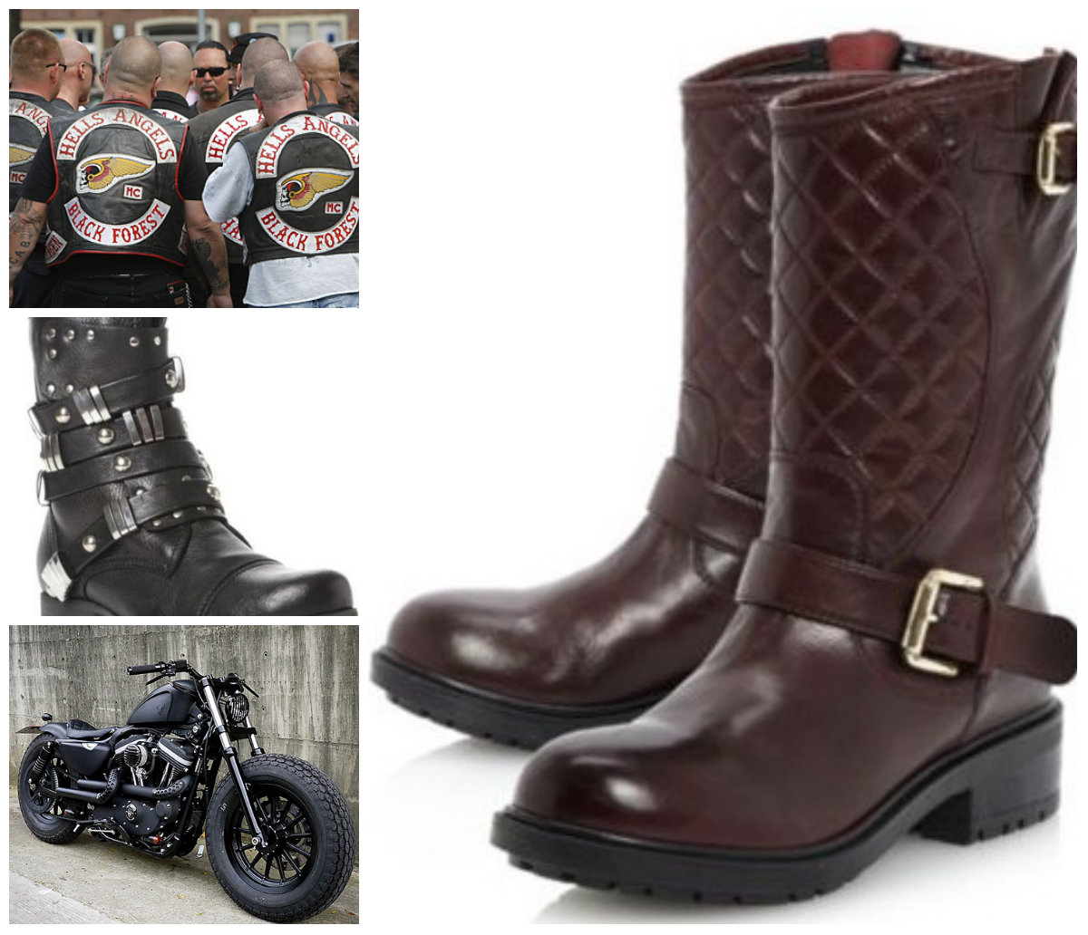 save off 67f04 c4d7a Biker Boot Obsession: Take Your Style from 0-60 In Seconds ...