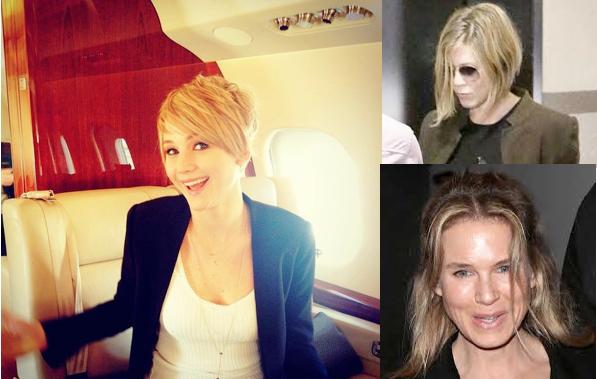 Ch-ch-ch-changes: Jennifer Lawrence, Jennifer Aniston, Renée Zellweger