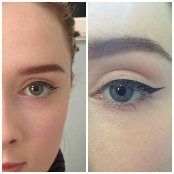 How to open up your eyes with makeup