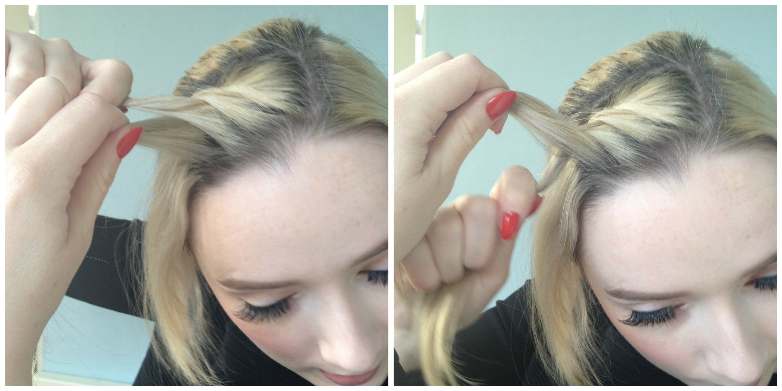 Easy Two Strand Braid For Lazy Days Beaut Ie