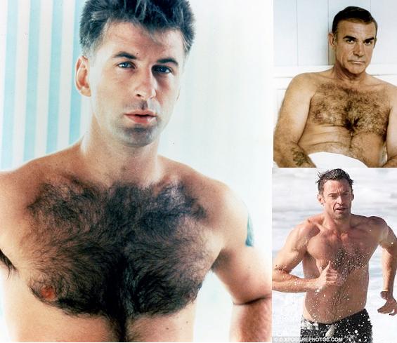 Team Fur: Alec Baldwin, Sean Connery, Hugh Jackman