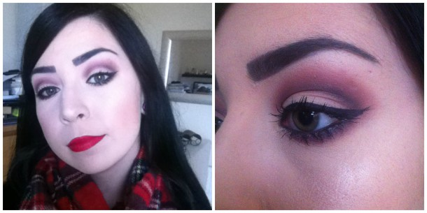 Red Crease Eyeshadow