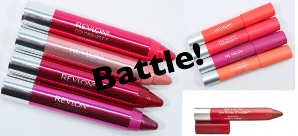 Unleash the dogs of Colorburst: Clockwise from left, Lacquer Balm, Matte Balm, Balm Stain