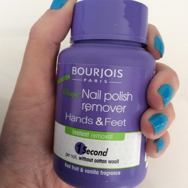 Pretty Deadly: Bourjois Magic Nail Polish Remover For Hands AND ...