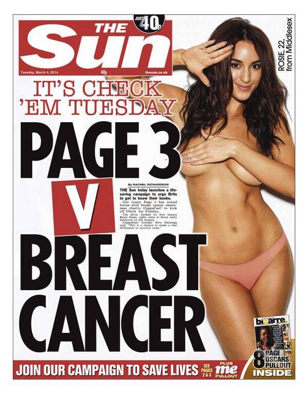 The sun page 3 girl of the year