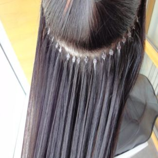 Microbead Hair Extensions Image Courtesy Of EBay