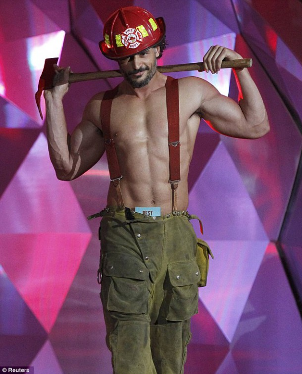 This may or may not be the local fireman on duty. (Image courtesy of Getty)