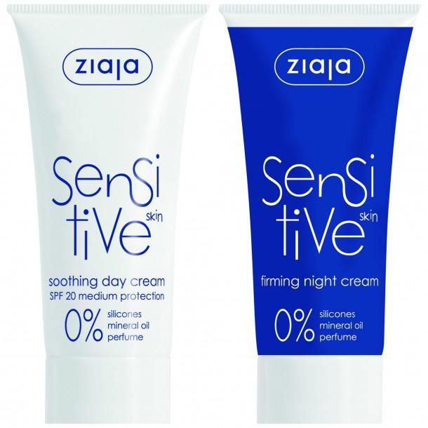 ziaja Soothing Day Cream Firming Night Cream