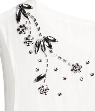 H&M's sparkling embroidery detail (Image courtesy of H&M)