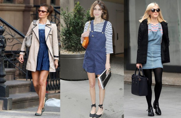 Helena Christensen, Alexa Chung, Fearne Cotton. (Images courtesy of Splash News, Rex Features, Getty)