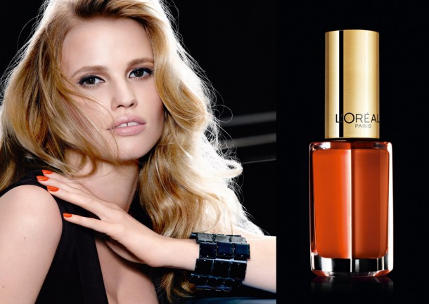 Lara Stone wearing Parisian Sari_picture_original