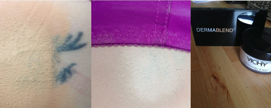 Dermablend launch new range for 2014 products to help for Dermablend tattoo cover up video