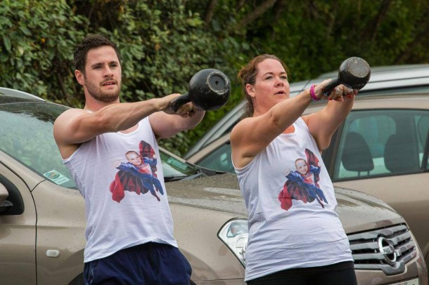 Own and the kettle bell challenge