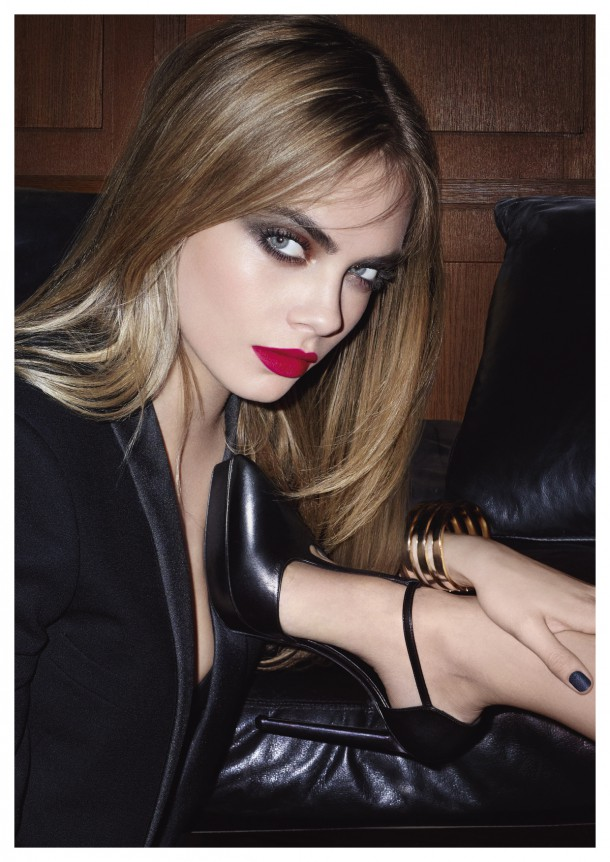 Sure there's Cara, getting her gloom on