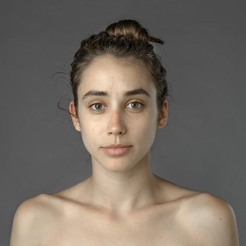 Esther Honig, unaltered photograph