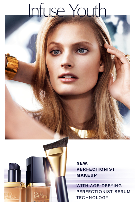 New Estee Lauder Launch Perfectionist Youth Infusing Foundation