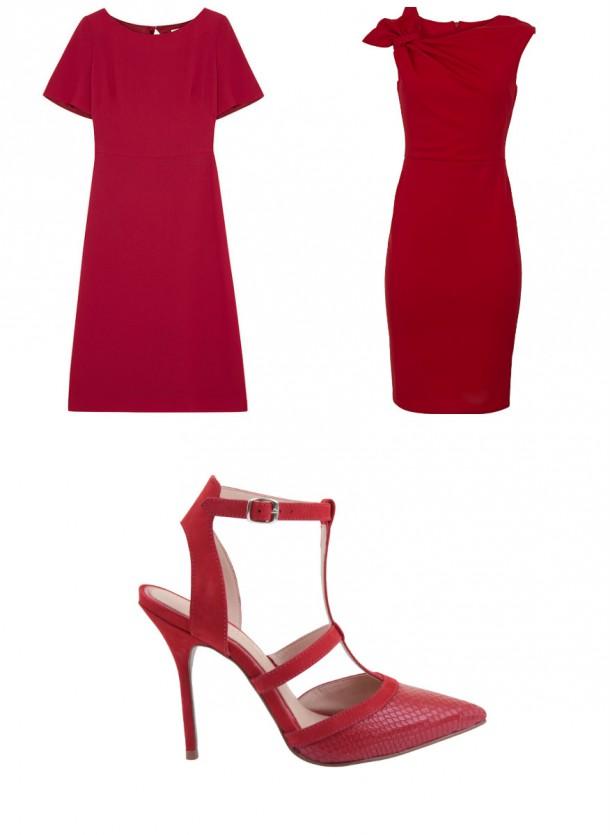 Dress, €TBC, Tara Jarmon at Harvey Nichols; High Neck dress, €69.95, Carraig Donn; Shoes, €85, Office
