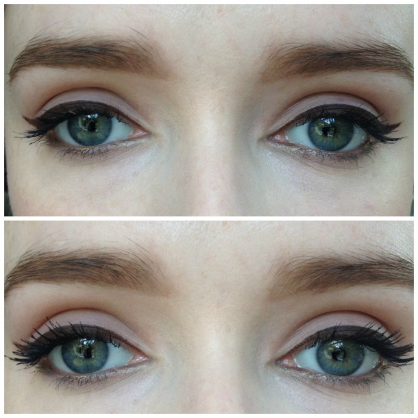 Top: One Coat Bottom: Two Coats