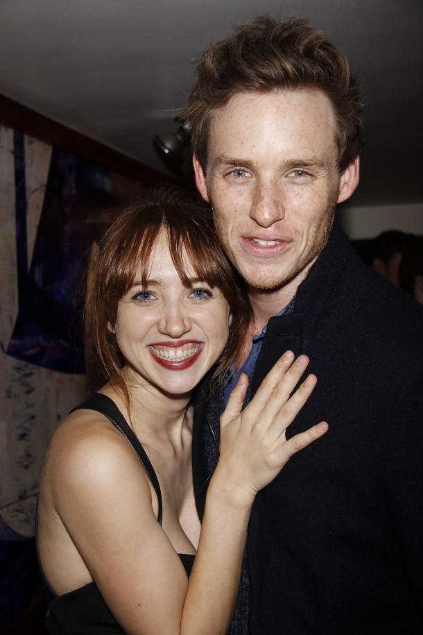 Zoe Kazan and Eddie Redmayne
