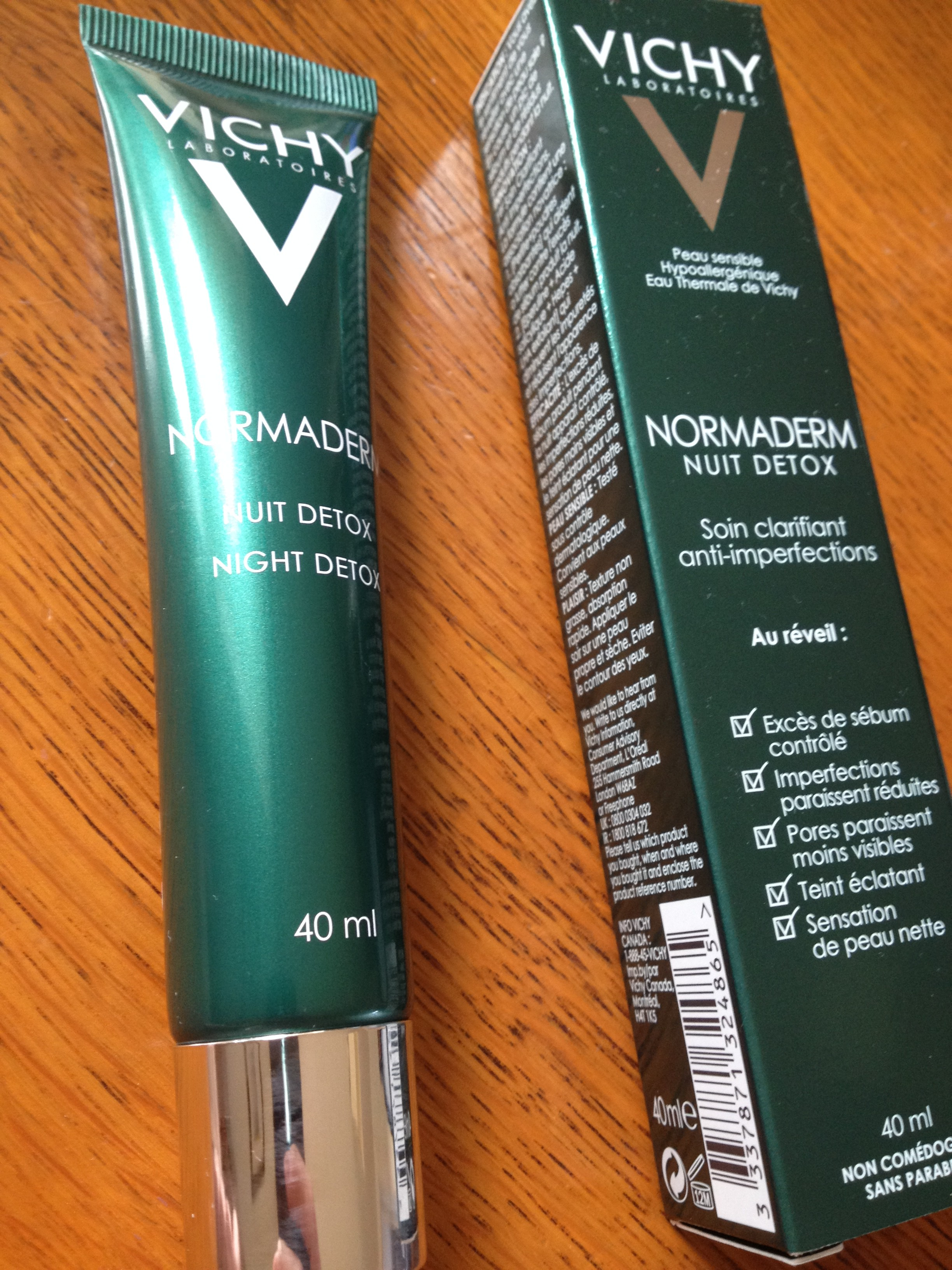 Vichy Normaderm Night Detox Treatment: Not Quite Spot-On | Beaut.ie