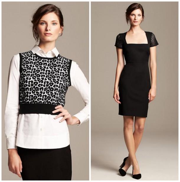 Shirt, £45; Dress, £99.50