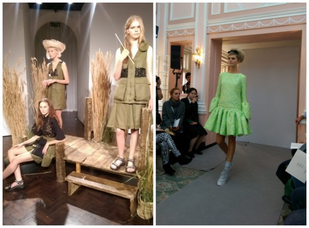 My pics from the FROW: Danielle Romeril and Paul Costello
