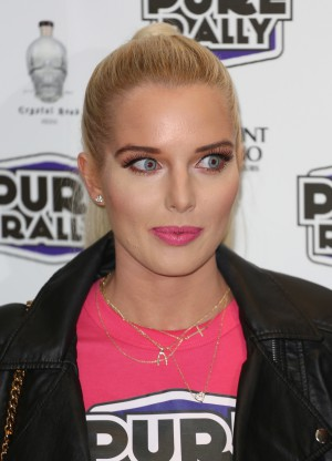 HD brows wear Helen Flanagan