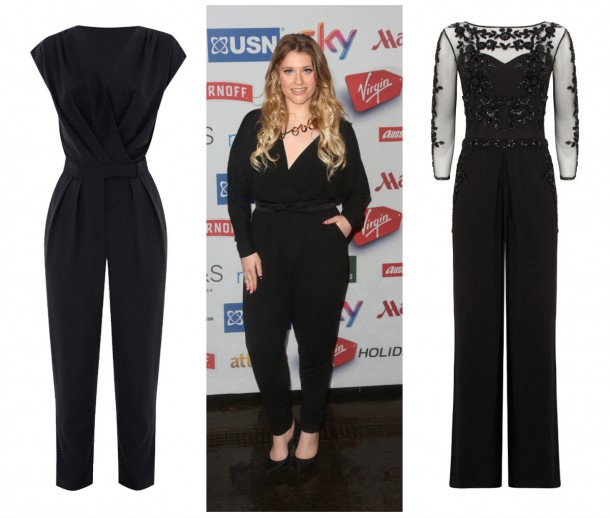 Left: Jumpsuit from the Christmas Collection at Dorothy Perkins; Ella Hendersen; June Jumpsuit, €305, Monsoon (available in store soon)