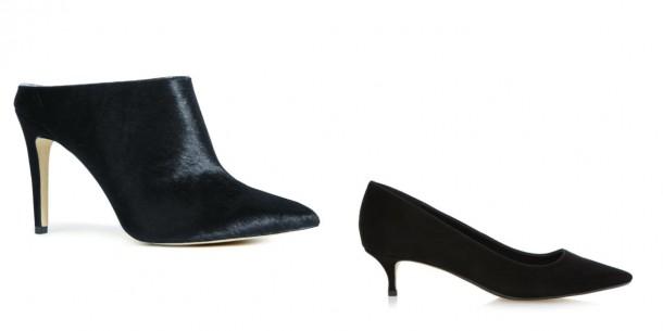 Shoe boot, €73, Next; Midi Heel Shoe, €95, Dune