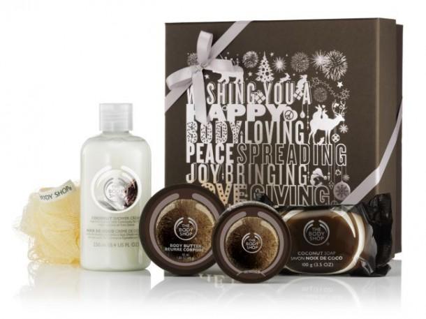 Body Shop Small Gift Box Coconut
