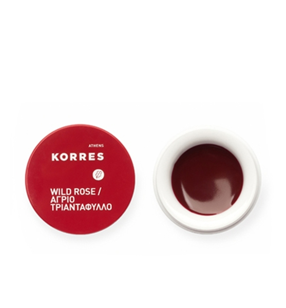 Korres Wild Rose Lip Butter without packaging-2