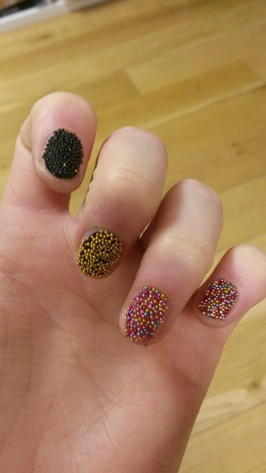 Aldi Strike Again Lacura Beaded Nail Art Sets Beaut