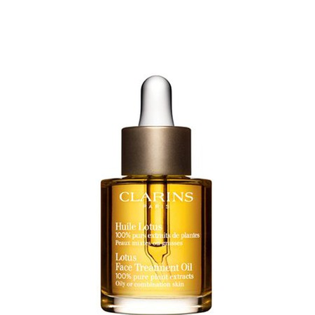 clarins lotus oil