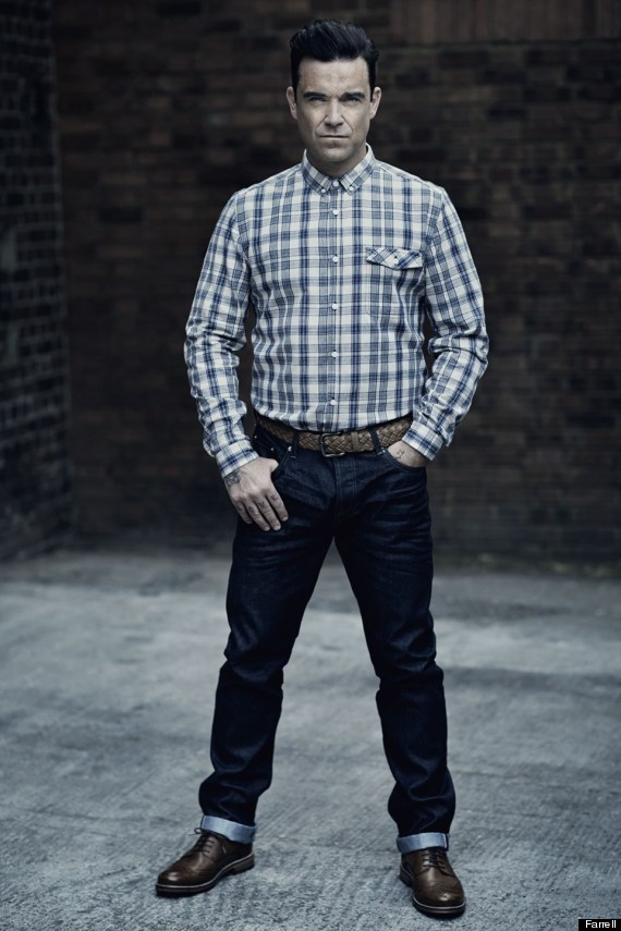 Robbie Williams in Farrell