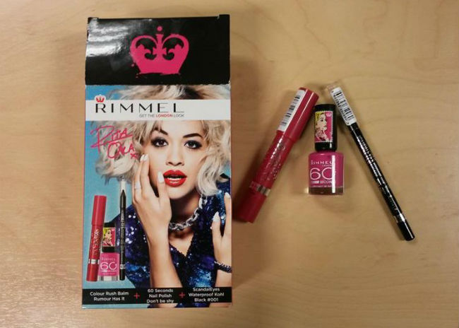 Rimmel Rita Box and Products