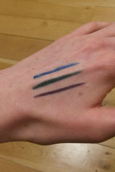 pencil swatches